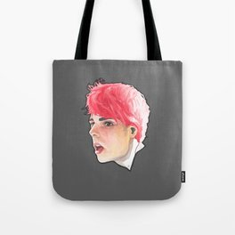 Gerard way portrait Tote Bag