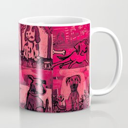 Dog Lover in Ruby Red Coffee Mug
