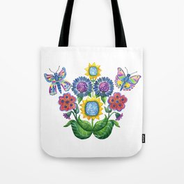 Butterfly Playground Tote Bag