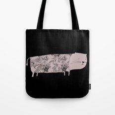 Flower pet Tote Bag