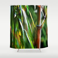 mother Shower Curtains featuring Mother by Robin Curtiss