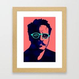 Her Poster Framed Art Print