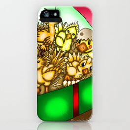 Christmas Artwork #11 (2017) iPhone Case