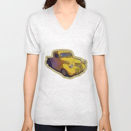 Dodge pickup truck Unisex V-Neck