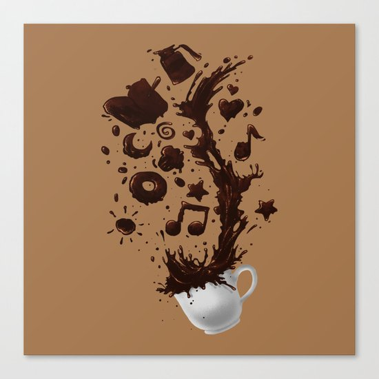 Need more Coffee Canvas Print