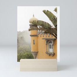 A hazy afternoon in Pena Palace Mini Art Print