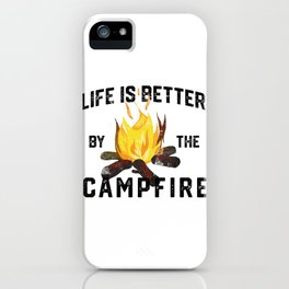 Camping nature forest mountains outdoor tree gift iPhone Case