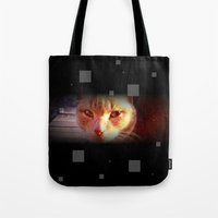ginger Tote Bags featuring Ginger by Emsify