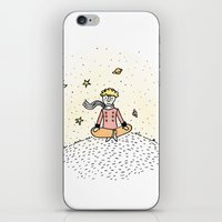 little prince iPhone & iPod Skins featuring Little Prince by nelasnow