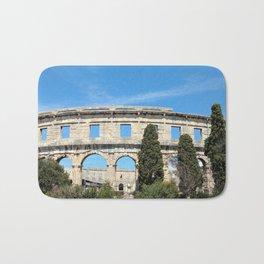 pula croatia ancient arena amphitheatre Bath Mat