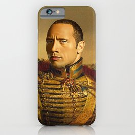 Dwayne Johnson iPhone Case