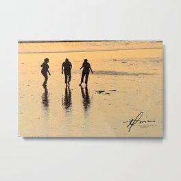 Beach Dance Metal Print