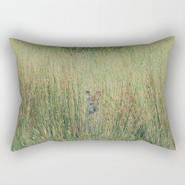 Playing hide and seek Rectangular Pillow