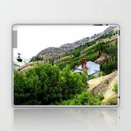 Ore Bucket from the Mayflower Mine, High on the Opposite Mountainside across the Animas River Laptop & iPad Skin