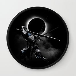 The Abyss Knight Wall Clock