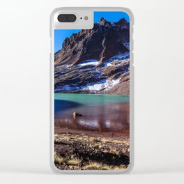 No Name Lake Clear iPhone Case