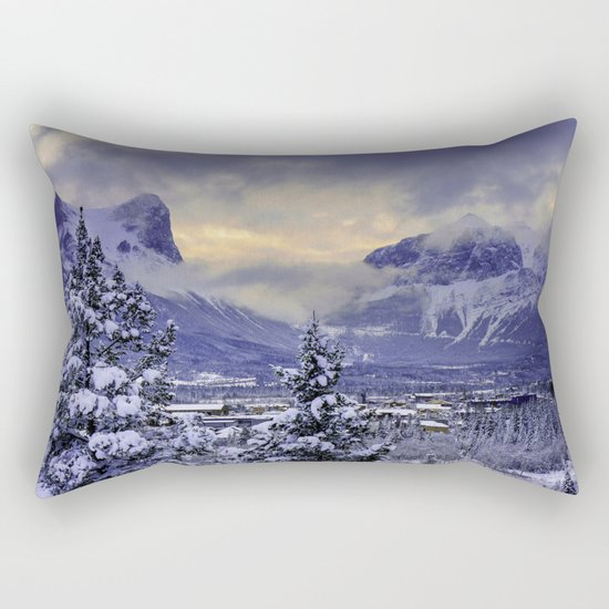 Winter Wonderland #snow Rectangular Pillow