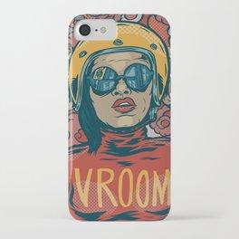 Vroom iPhone Case