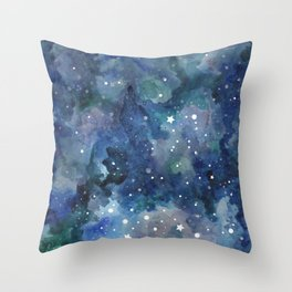 Star Galaxy Throw Pillow