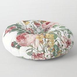 Romantic Garden Floor Pillow