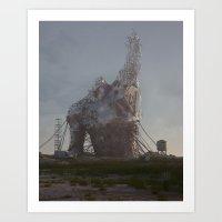 (DE)CONSTRUCT (everyday 06.17.17) Art Print