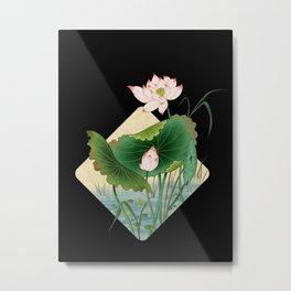 lotursflowers B : Minhwa-Korean traditional/folk art Metal Print