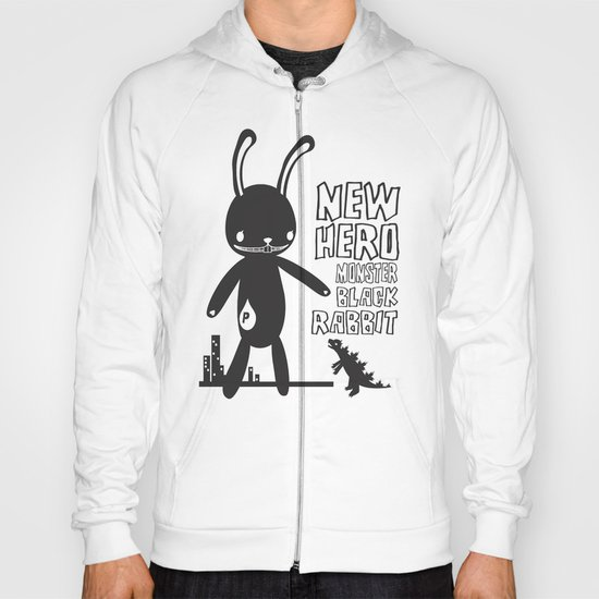 NEW HERO BLACK RABBIT MONSTER Hoody