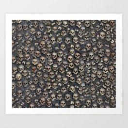 Skull Tapestry Large Art Print