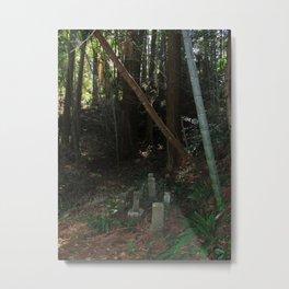 Gravestones Metal Print