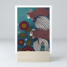 The Little Mermaid (2) Mini Art Print