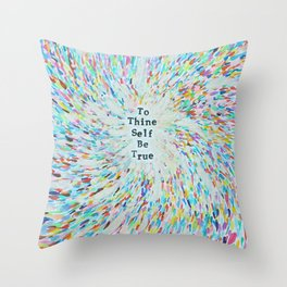 New Age Wisdom Throw Pillow