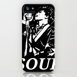 """James Brown """"The Godfather Of Soul"""" iPhone Case"""