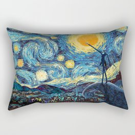 Jack starry nightmare night iPhone 4 5 6 7 8, pillow case, mugs and tshirt Rectangular Pillow