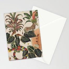 Jungla Crema Stationery Cards