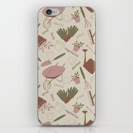 A Day in the Garden - Rose iPhone Skin