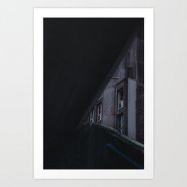 ABRAXAS DESERT 2 Art Print
