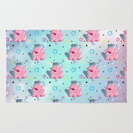 Pink Poo Rug