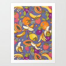 tropical dream Art Print