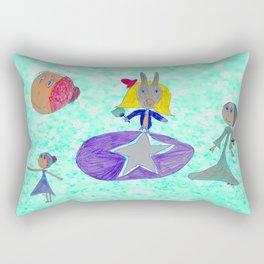 Alice | Up to the light sky Rectangular Pillow