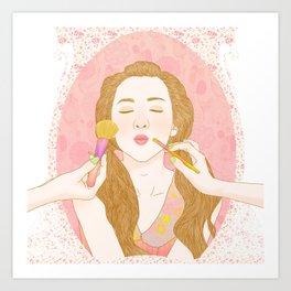 Lips Like Sugar Art Print