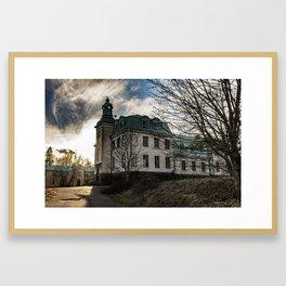 The Mental Hospital Framed Art Print