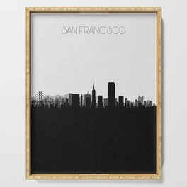City Skylines: San Francisco Serving Tray