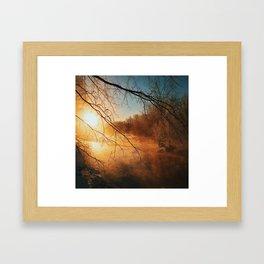 Shine On Benevolent Sun Framed Art Print
