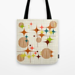 Starbursts and Globes Tote Bag