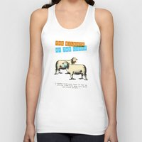 silence of the lambs Tank Tops featuring The silence of the lambs by Marta Colomer