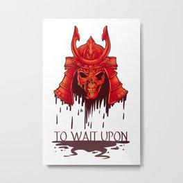To Wait Upon Metal Print
