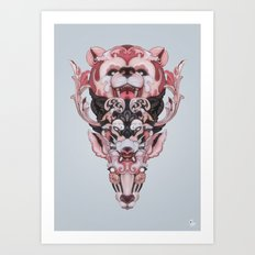 The Law of the Jungle Art Print