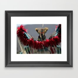 Indian Style Mad Max Framed Art Print