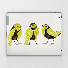 Goldfinches Laptop & iPad Skin