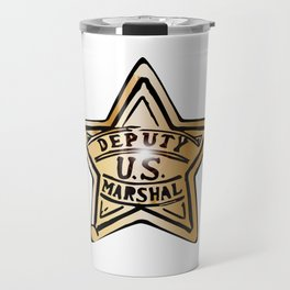 Deputy US Marshal Star Travel Mug